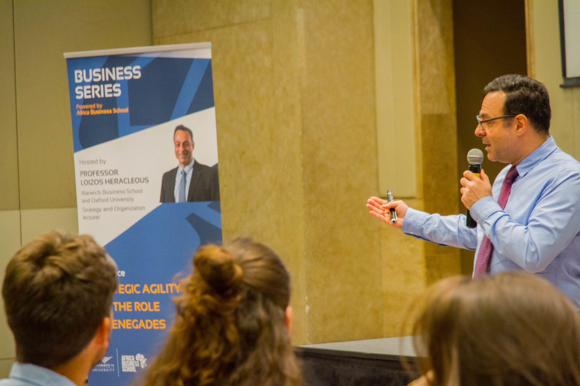 Business Series with Pr. Loizos Heracleous - Africa Business School